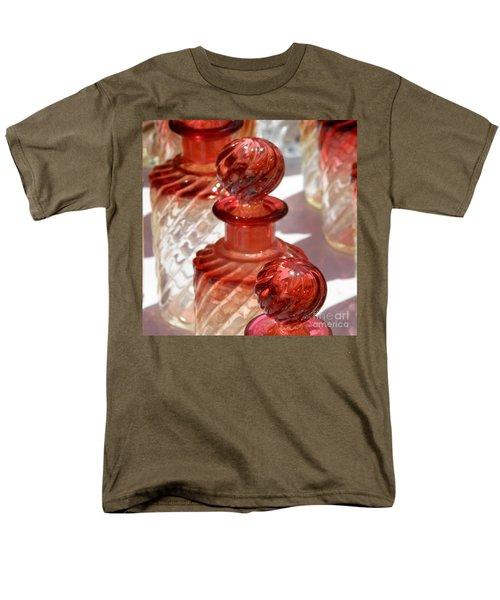 Crystal Bottles Men's T-Shirt  (Regular Fit) by Lainie Wrightson