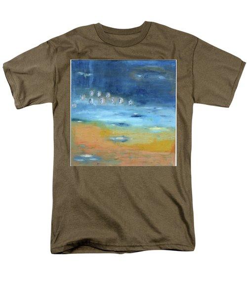 Crystal Deep Waters Men's T-Shirt  (Regular Fit) by Michal Mitak Mahgerefteh