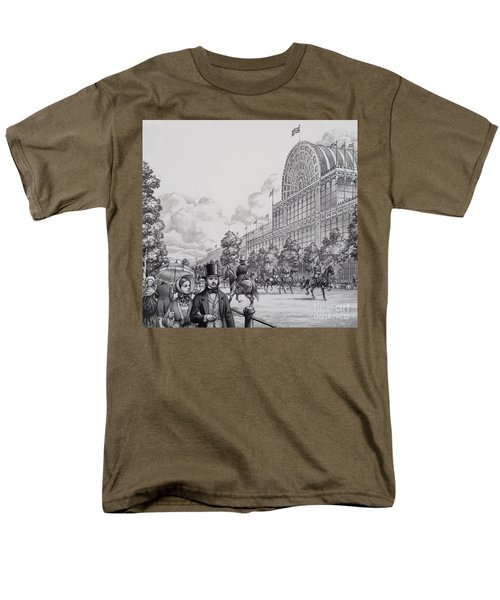 Crystal Palace Men's T-Shirt  (Regular Fit) by Pat Nicolle