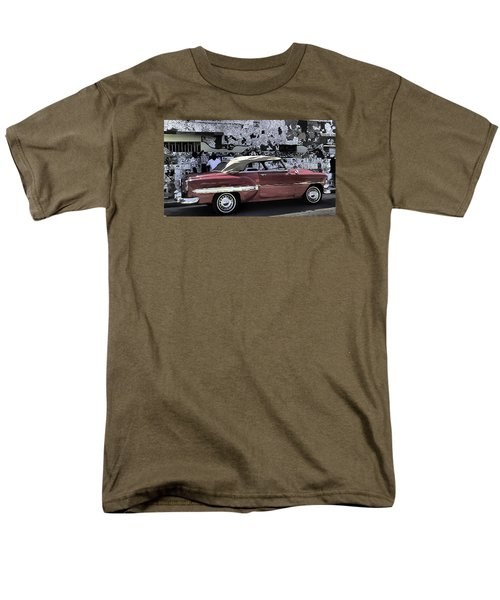 Cuba Cars 2 Men's T-Shirt  (Regular Fit) by Will Burlingham