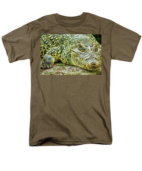 Cuban Croc Men's T-Shirt  (Regular Fit) by Josy Cue