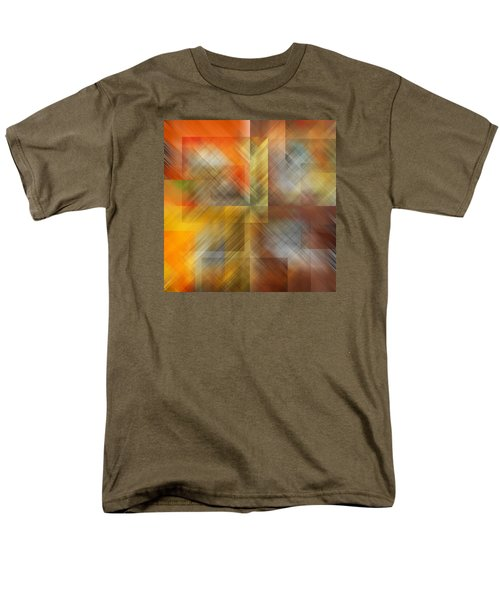 Men's T-Shirt  (Regular Fit) featuring the photograph Cubic Space by Mark Greenberg