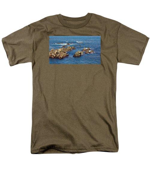 Cudillero Men's T-Shirt  (Regular Fit) by Angel Jesus De la Fuente