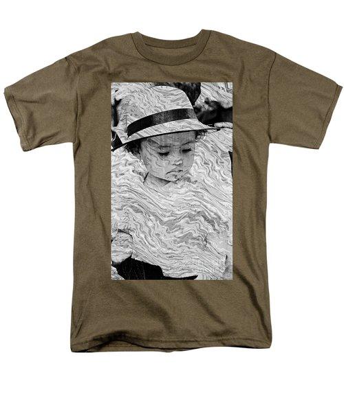 Men's T-Shirt  (Regular Fit) featuring the photograph Cuenca Kids 894 by Al Bourassa