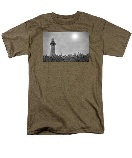 Men's T-Shirt  (Regular Fit) featuring the photograph Currituck Lighthouse by Marion Johnson