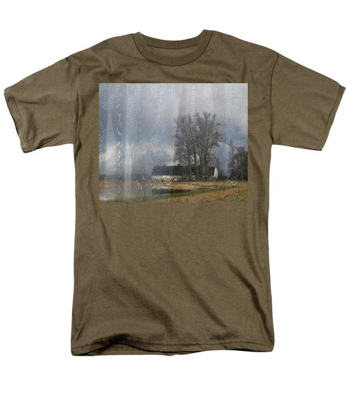 Curtains Of The Mind Men's T-Shirt  (Regular Fit) by I'ina Van Lawick