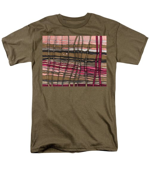 Stalks At Sunset Men's T-Shirt  (Regular Fit) by Sandra Church
