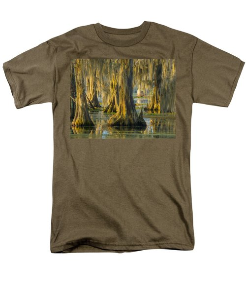 Cypress Canopy Uncovered Men's T-Shirt  (Regular Fit) by Kimo Fernandez