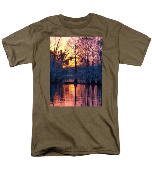 Cypress Sunrise Men's T-Shirt  (Regular Fit) by Kimo Fernandez