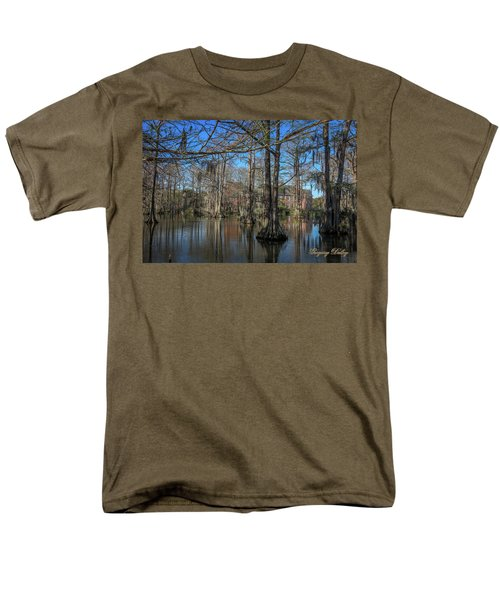 Men's T-Shirt  (Regular Fit) featuring the photograph Cyprus Lake 2 by Gregory Daley  PPSA