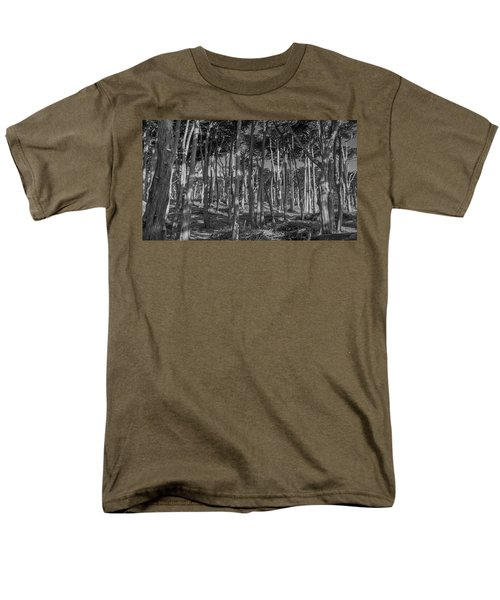 Cyprus On Point Lobos Men's T-Shirt  (Regular Fit) by Mark Barclay