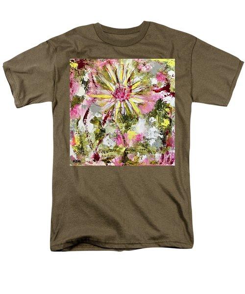 Daisies On Parade No. 1 Men's T-Shirt  (Regular Fit)