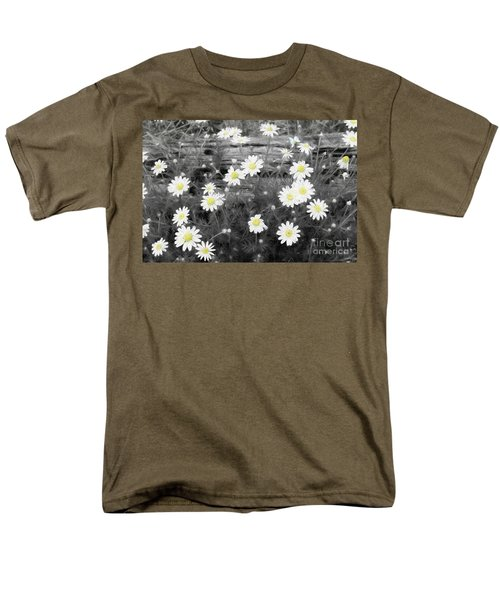 Men's T-Shirt  (Regular Fit) featuring the photograph Daisy Patch by Benanne Stiens