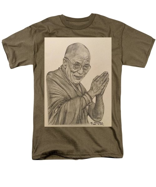 Dalai Lama Tenzin Gyatso Men's T-Shirt  (Regular Fit) by Kent Chua