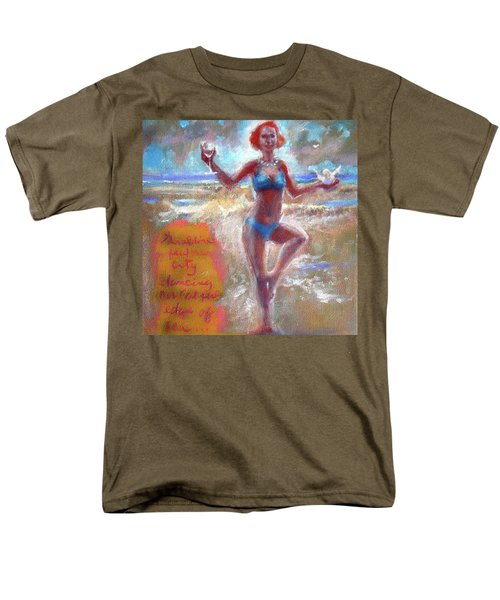Dancing At The Edge Men's T-Shirt  (Regular Fit)