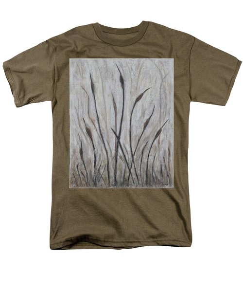 Dancing Cattails 3 Men's T-Shirt  (Regular Fit) by Trish Toro