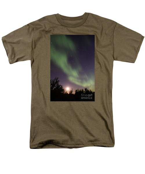 Men's T-Shirt  (Regular Fit) featuring the photograph Dancing With The Moon by Larry Ricker