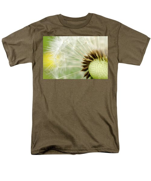Dandelion Fluff Men's T-Shirt  (Regular Fit) by Rainer Kersten