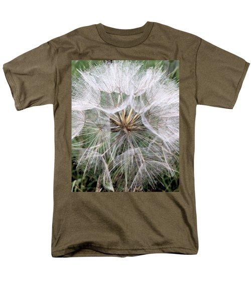 Dandelion Seed Head  Men's T-Shirt  (Regular Fit) by Kathy Spall