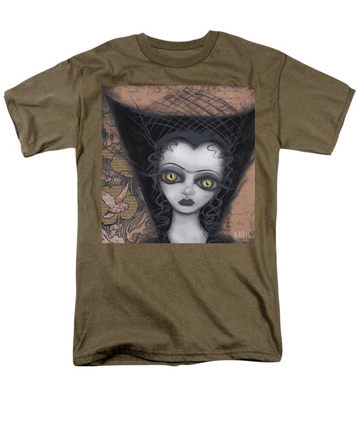 Dark Lily Men's T-Shirt  (Regular Fit) by Abril Andrade Griffith
