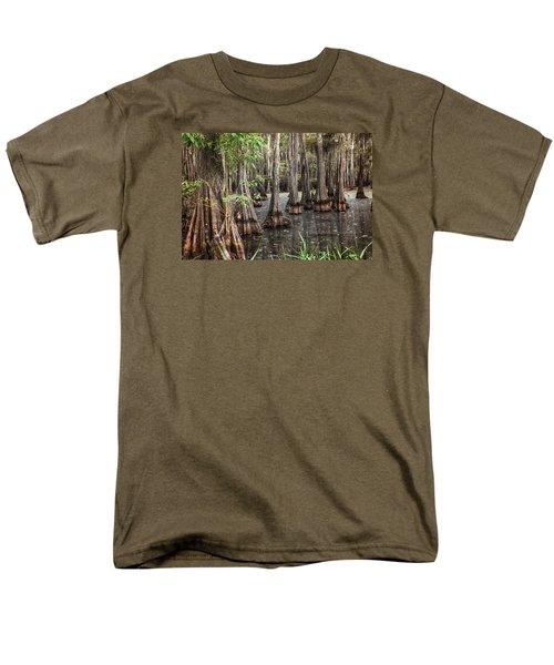Dark Swamp Men's T-Shirt  (Regular Fit) by Ester  Rogers