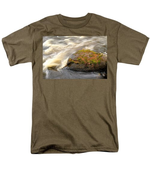 Men's T-Shirt  (Regular Fit) featuring the photograph Dave's Falls #7442 by Mark J Seefeldt