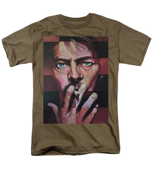 David Bowie Men's T-Shirt  (Regular Fit) by Steve Hunter