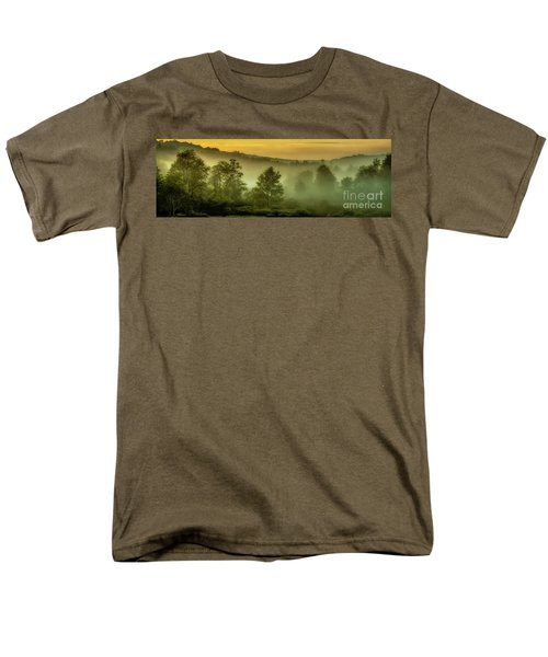 Men's T-Shirt  (Regular Fit) featuring the photograph Dawn At Wildlife Management Area by Thomas R Fletcher