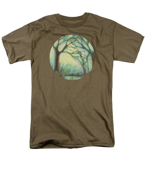 Men's T-Shirt  (Regular Fit) featuring the painting Dawn by Mary Wolf