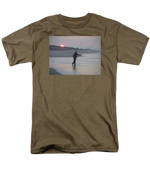 Men's T-Shirt  (Regular Fit) featuring the photograph Dawn Patrol by Newwwman