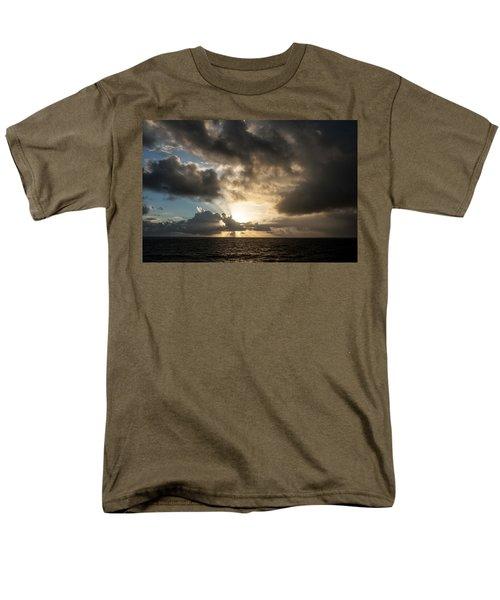 Men's T-Shirt  (Regular Fit) featuring the photograph Day Break by Allen Carroll