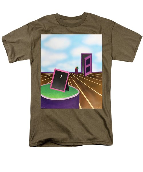 Men's T-Shirt  (Regular Fit) featuring the painting Day by Thomas Blood