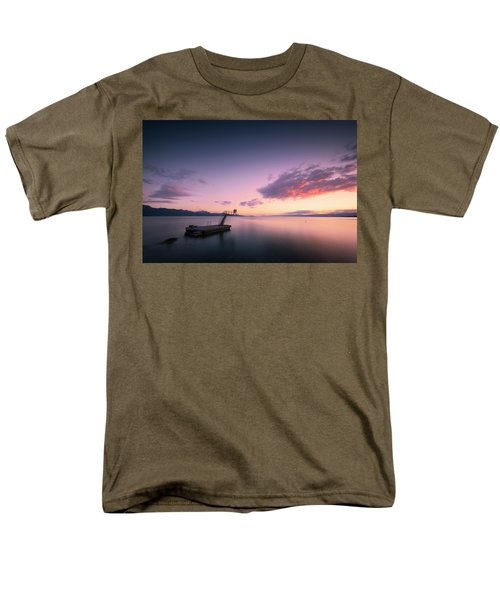 Dazzled By Happiness Men's T-Shirt  (Regular Fit) by Dominique Dubied