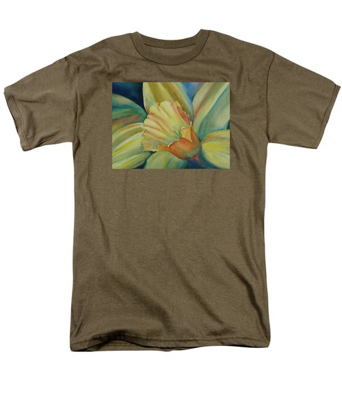 Dazzling Daffodil Men's T-Shirt  (Regular Fit) by Ruth Kamenev