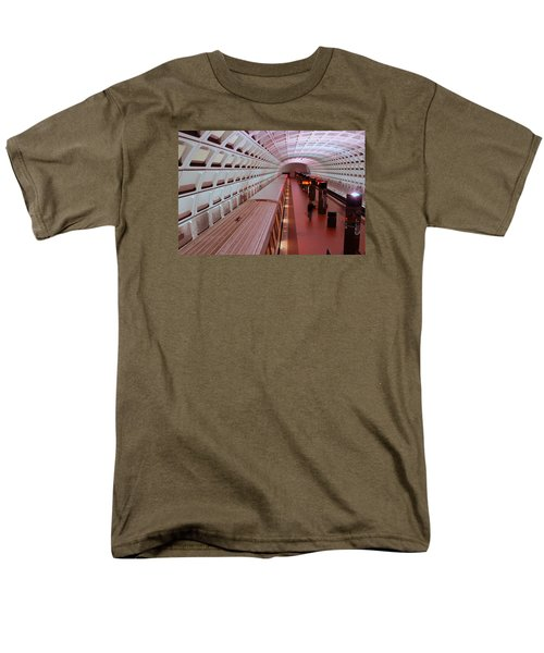 Men's T-Shirt  (Regular Fit) featuring the photograph Dc Metro by James Kirkikis