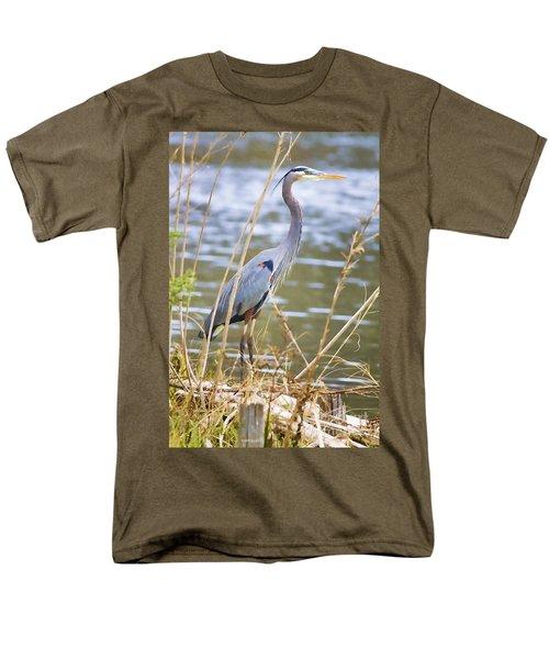 De Leon Springs Blue Men's T-Shirt  (Regular Fit) by Deborah Benoit