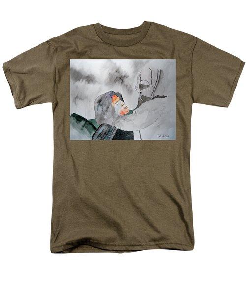 Dean Deleo - Stone Temple Pilots - Music Inspiration Series Men's T-Shirt  (Regular Fit) by Carol Crisafi