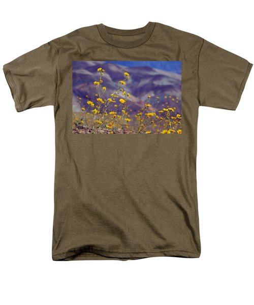 Death Valley Superbloom 103 Men's T-Shirt  (Regular Fit) by Daniel Woodrum