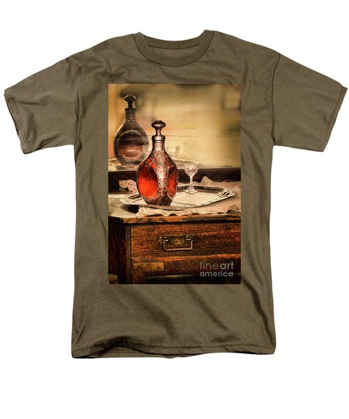 Men's T-Shirt  (Regular Fit) featuring the photograph Decanter And Glass by Jill Battaglia