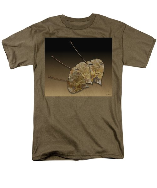 Men's T-Shirt  (Regular Fit) featuring the photograph Decaying Leaves by Joe Bonita