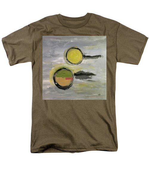 Men's T-Shirt  (Regular Fit) featuring the painting Deconstruction by Victoria Lakes
