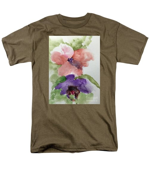Men's T-Shirt  (Regular Fit) featuring the painting Deep Within by Trilby Cole