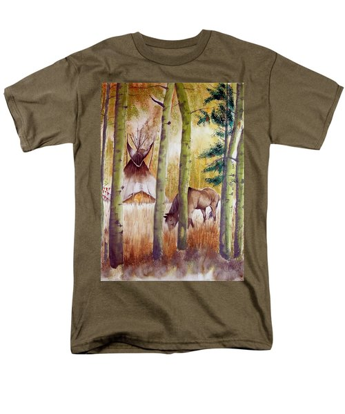 Deep Woods Camp Men's T-Shirt  (Regular Fit) by Jimmy Smith