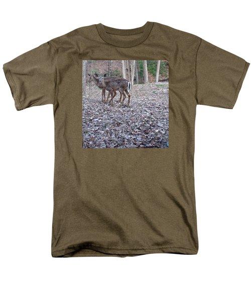 Men's T-Shirt  (Regular Fit) featuring the photograph Deer Deer Me  -comp- by Cliff Spohn