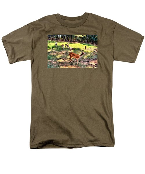 Deerfield Men's T-Shirt  (Regular Fit) by James Potts