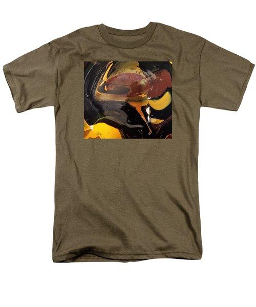 Defender Of The Universe Eating Sour Cream Men's T-Shirt  (Regular Fit) by Gyula Julian Lovas