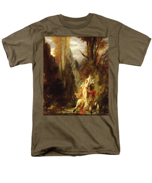Dejanira  Autumn Men's T-Shirt  (Regular Fit) by Gustave Moreau