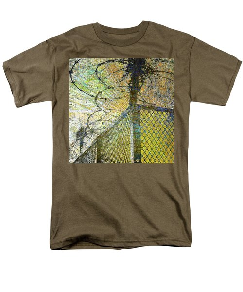 Men's T-Shirt  (Regular Fit) featuring the mixed media Deliverance by Tony Rubino