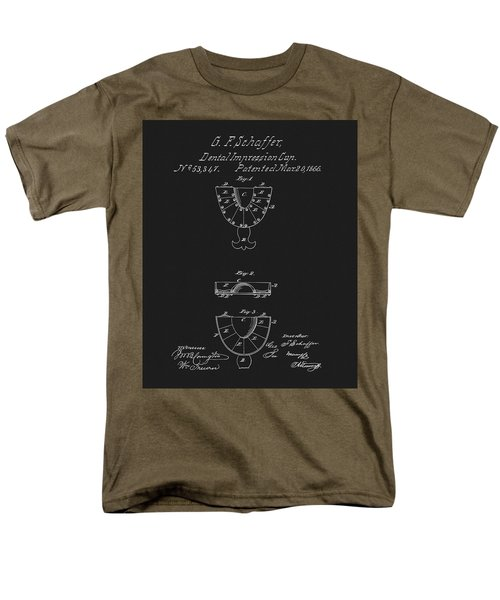 Dental Mold Patent Men's T-Shirt  (Regular Fit) by Dan Sproul