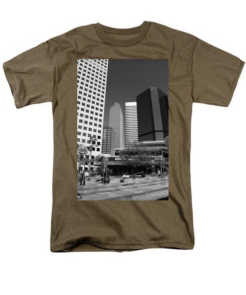 Denver Architecture Bw Men's T-Shirt  (Regular Fit) by Frank Romeo